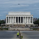 Image for Watching Discovery Over the Lincoln Memorial