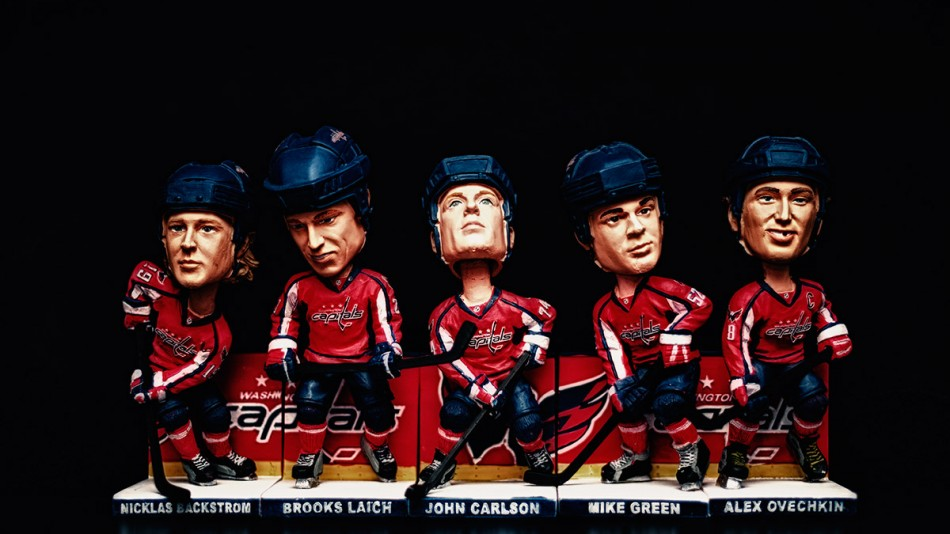 The 2011-12 Washington Capitals in Bobbleheads