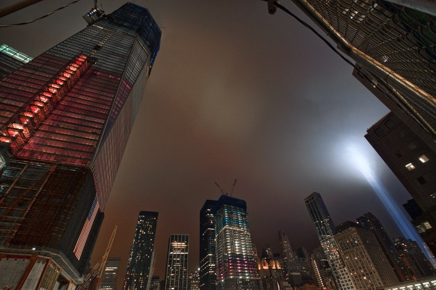 From Next to Ground Zero